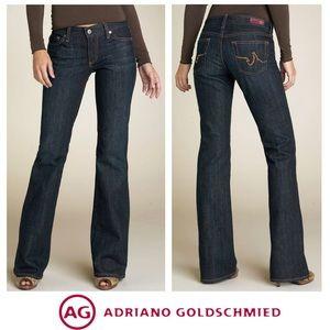 AG Adrianno Jeans The Club Dark Denim 5 Pocket